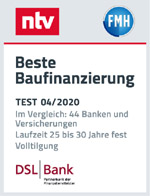 NTV - Beste Baufinanzierung 04/2020