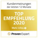 Proven Expert Auszeichnungen 2020